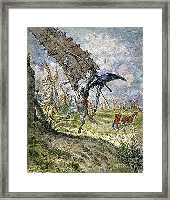 Don Quixote Framed Print by Granger