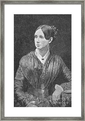 Dorothea Dix, American Reformer Framed Print by Photo Researchers