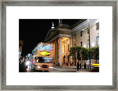 Dublin General Post Office Framed Print by Josh Whalen