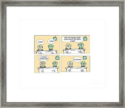 Dude And Dude Framed Print by Jack Norton