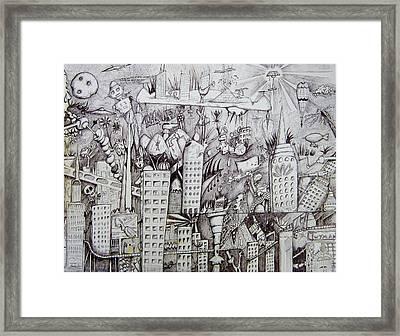 Erinville Framed Print by Dan Twyman