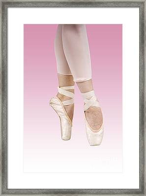 Female Dancer Framed Print by Ilan Rosen