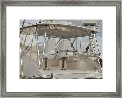 Fishing Boat Framed Print