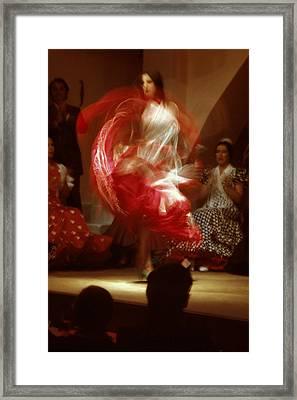 Flamenco Dancer Framed Print by Carl Purcell