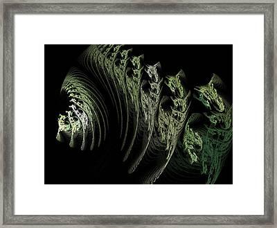 Foliage Framed Print by Michele Caporaso