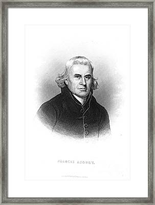 Francis Asbury (1745-1816) Framed Print by Granger