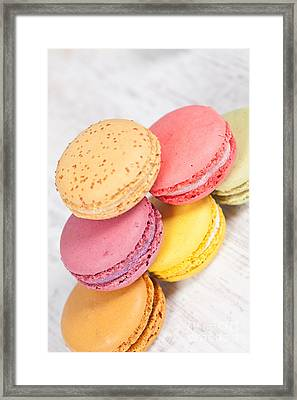 French Macarons Framed Print by Sabino Parente