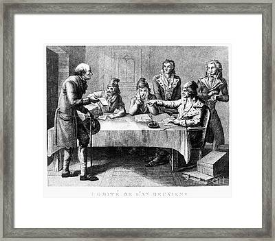 French Revolution, 1793 Framed Print by Granger