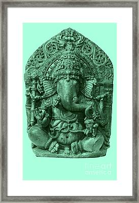 Ganesha, Hindu God Framed Print by Photo Researchers