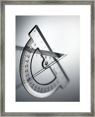 Geometry Set Framed Print by Tek Image