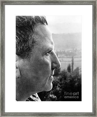 Gertrude Stein (1874-1946) Framed Print by Granger