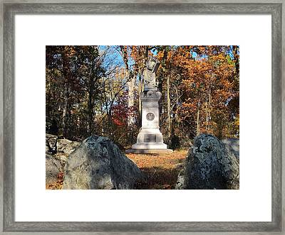 Gettysburg Three Days Battle   Framed Print