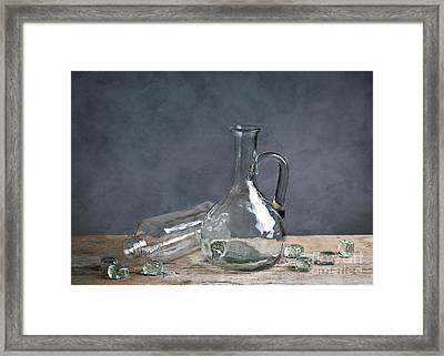 Glass Framed Print by Nailia Schwarz