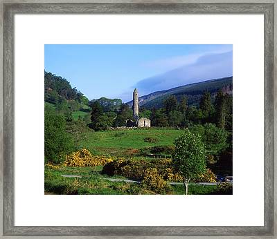 Glendalough, Co Wicklow, Ireland Framed Print by The Irish Image Collection