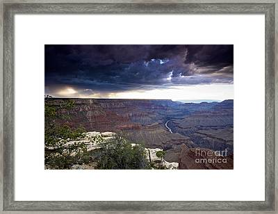 Grand Canyon As Seen From Mohave Point Framed Print
