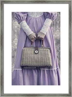 Handbag Framed Print by Joana Kruse