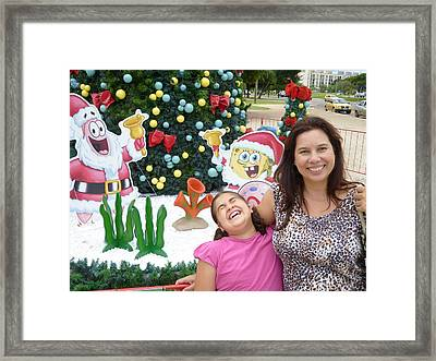 Framed Print featuring the photograph Happy by Beto Machado