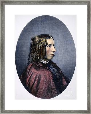 Harriet Beecher Stowe Framed Print