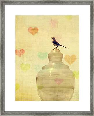 Heartsong Framed Print by Amy Tyler