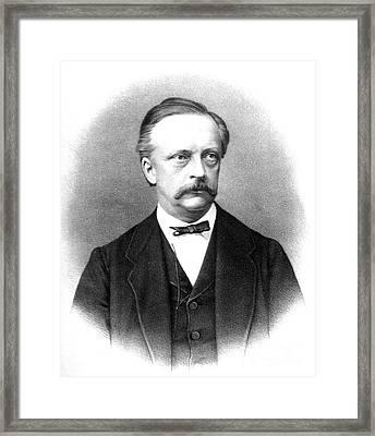 Hermann Von Helmholtz, German Physician Framed Print