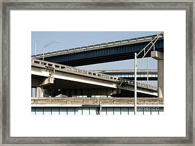 Highways Framed Print by Blink Images