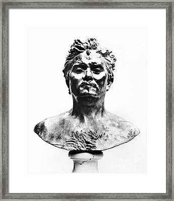Honore De Balzac (1799-1850) Framed Print by Granger