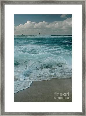 Hookipa Framed Print by Sharon Mau