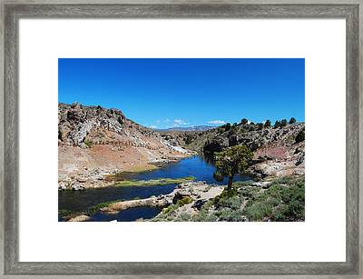 Hot Creek  Framed Print by Kirk Williams