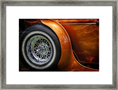 Hot Oldies Framed Print