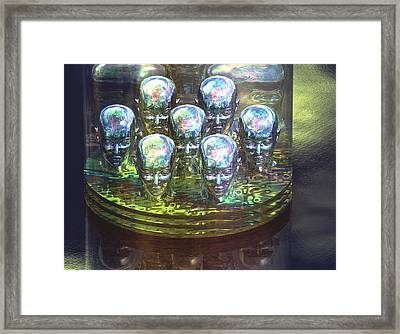 Human Cloning Framed Print by Laguna Design