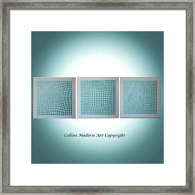 3 Illusions Framed Print