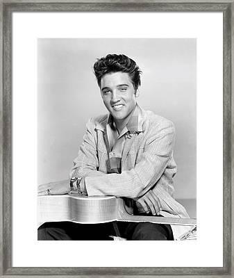 Jailhouse Rock, Elvis Presley, 1957 Framed Print