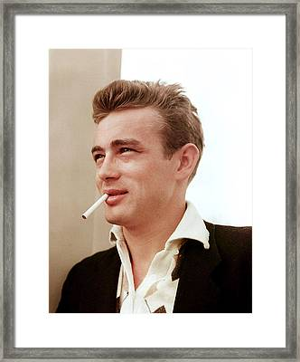James Dean Framed Print by Everett