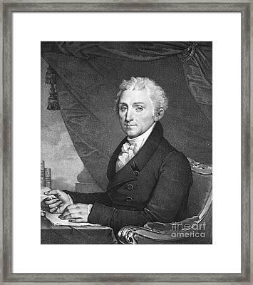 James Monroe (1758-1831) Framed Print