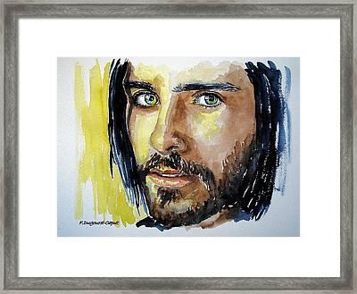 Jared Leto Framed Print by Francoise Dugourd-Caput