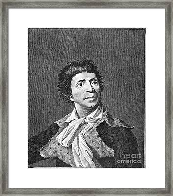 Jean-paul Marat (1743-1793) Framed Print by Granger