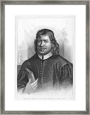 John Bunyan (1628-1688) Framed Print by Granger