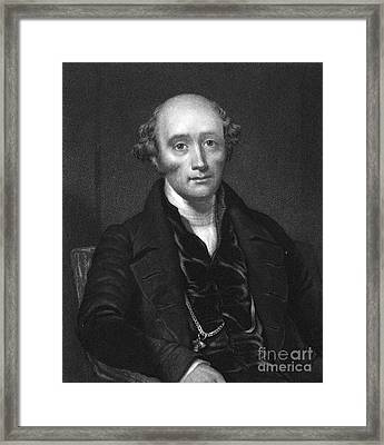 John Croker (1780-1857) Framed Print