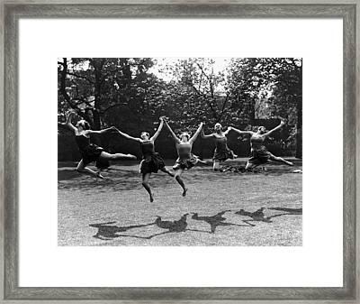 Joie De Vivre Framed Print by Fox Photos