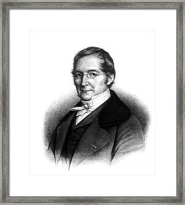 Joseph Gay-lussac, French Chemist Framed Print