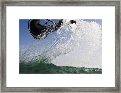 Kitesurfing Board Framed Print by Hagai Nativ