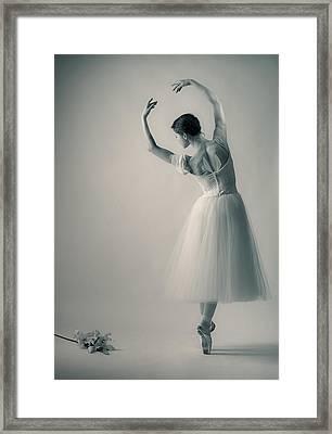 La Giselle Framed Print by Nikolay Krusser