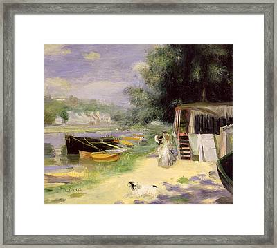 La Grenouillere Framed Print