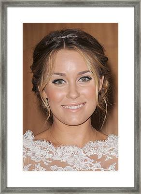Lauren Conrad At In-store Appearance Framed Print