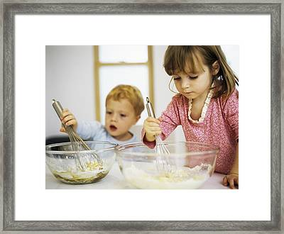 Making Cakes Framed Print by Ian Boddy