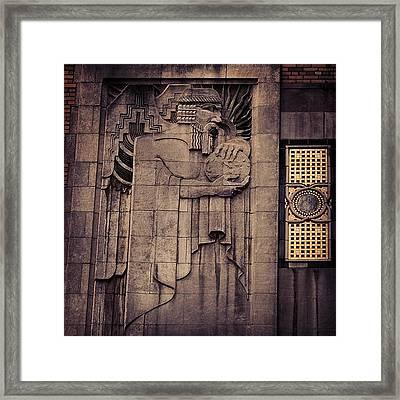 Manhattan - New York Framed Print