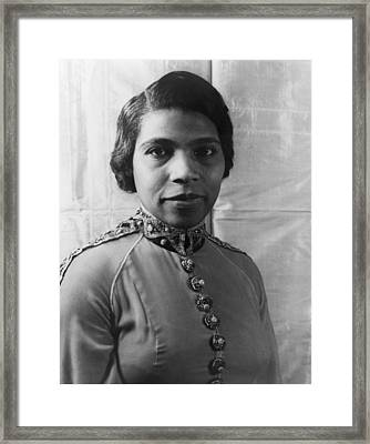 Marian Anderson 1897-1993, African Framed Print
