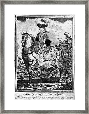 Marquise De Pompadour Framed Print by Granger