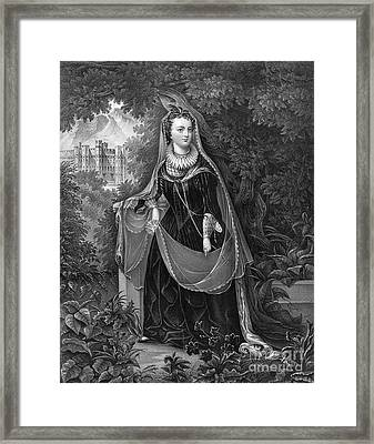 Mary Queen Of Scots Framed Print