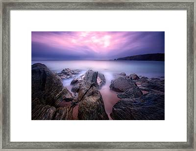 3 Minutes At Leas Foot Framed Print by Mark Leader